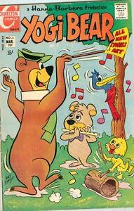 Yogi Bear #3 March 1971 VG