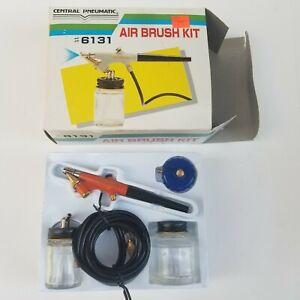 Central Pneumatic Air Brush Kit 15-50 PSI #6131 Made in Taiwan nib
