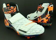 Nike BV0153-100 Force Savage Elite 2 Football Cleats White Orange Camo Men US 12