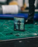 John Wick DVD Case Diorama PROP ONLY Mezco, Marvel Legends, NECA 1/12