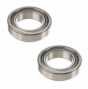2 OEM Left+Right Front Outer Wheel Bearings for Toyota for Lexus for Mitsubishi