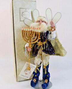 """Mark Roberts 17"""" Hanukkah Fairy Med. 51.92304 Ltd. Edition #59 of 500"""