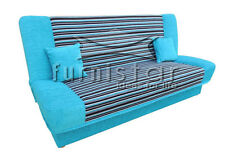 "MODERN SETTEE Sofa Bed COUCH ""COCO"" with storage BONELL SPRINGS polskie wersalki"