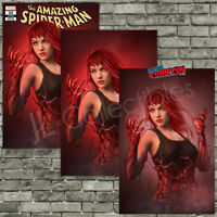 🔥 THE AMAZING SPIDER-MAN #30 SHANNON MAER MJ TRADE + VIRGIN + NYCC VARIANT SET!
