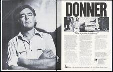 1979 Richard Donner photo Kodak Eastman 5247 movie film vintage trade print ad