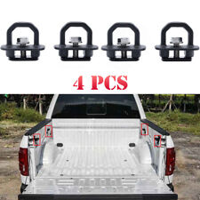 4pcs Car Accessories Tie Down Truck Bed Side Wall Anchor For pickup GMC Chevy