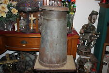 LARGE Antique Nestles Food Co. Metal Milk Dairy Can-RARE-Country Farm Decor