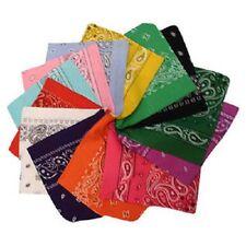 Lot de 5 bandana coloris au choix