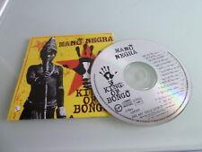 CD MANO NEGRA KING OF BONGO MANU CHAO-NO JEWEL CASE