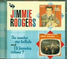 Jimmie Rodgers - Number One Ballads/Tv Favorites Vol. 1 Cd Perfetto