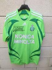 VINTAGE Maillot SAINT-ETIENNE ADIDAS 2006 les Verts shirt football maglia S