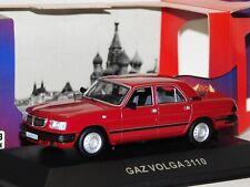 GAZ VOLGA 3110 1997 DARK RED IST IST006 1/43