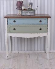 Kommode Shabby Chic Nachttisch Antik Stil Schubladenkommode Nachtschrank