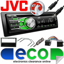 Vauxhall Corsa C 2000-2004 JVC Car Stereo Radio CD MP3 AUX In Upgrade Kit Black
