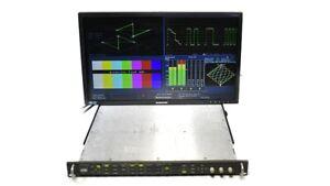 Tektronix WVR7100 Waveform Rasterizer Opt: SD HD AD 7120 7020 Dolby