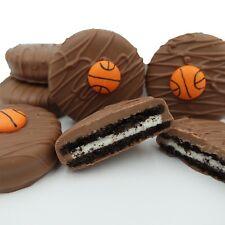 Philadelphia Candies Milk Chocolate Covered OREO® Cookies, Basketball Gift 8 Oz
