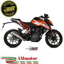 Auspuff Motorrad Mivv Ktm 125 Duke 2017 17 Endtopf M2 Stainless Steel Genehmigt