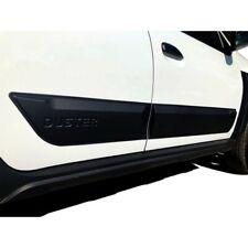 Noir Pour Dacia Sandero Stepway II 2013-2018 protection en plastique ABS