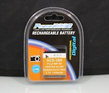 184392 RECHARGEABLE BATTERY NP-50 / D-LI68 / KLIC-7004 REPLACEMENT NEW