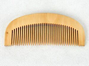 Sandalwood Healthcare Hair Comb, Anti-static, All Natural, Unisex, Hair, Beard