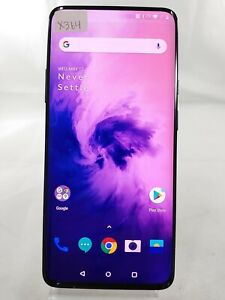 """OnePlus 7 Pro GM1915 256GB T-Mobile ONLY 6.6"""" Smartphone Cellphone Grey X151"""