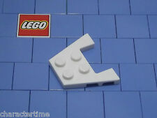 Lego 48183 3x4 White Wedge, Plate With Stud Notches X 4 NEW