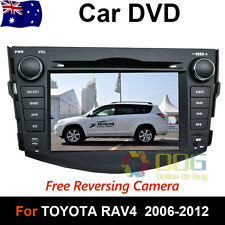 "7"" Car DVD GPS Stereo navigation Head Unit  For Toyota RAV4 2006 - 2012 Model"