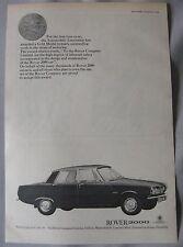 1966 Rover 2000 Original advert No.2