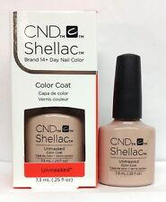 Cnd Shellac Gel Polish - UNDRESSED Collection .25oz/7.3ml Pick Any Color