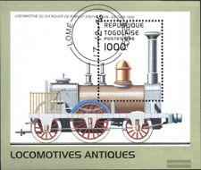 Togo Block402 (kompl.Ausg.) gestempelt 1996 Lokomotiven