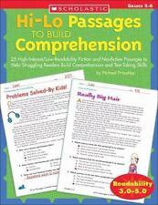 Hi/Lo Passages to Build Reading Comprehension Grades 4-5: 25 High-Interest/Low R