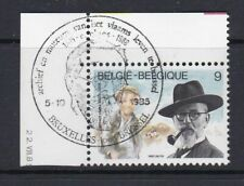 Belgique 1985 2191 ° 1er jour Ernest Claes écrivain De Witte Pipe