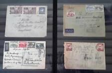 Poland 1917,1937,1939,1946 Registered letter lot Usa Palestine Israel Cover Set