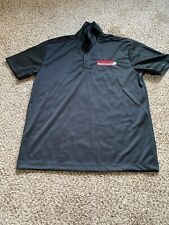Lagunita Brewing Company Large Black Polo Shirt