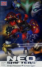 Prospekt D Mega Bloks Neo Shifters 2007 Blaze Axx Atlas Raan Scar Dorn Magna Rex