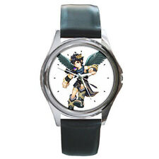 Dark Pit Kid Icarus Uprising Leather Wrist Watches New