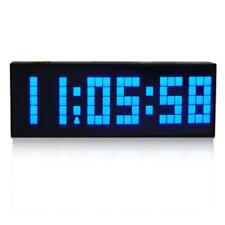 Large Big Number Digital Led Clock/Wall Alarm/Digital Calendar/Count Down Timer