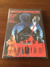 LA MANSION ENSANGRENTADA - ED 1 DVD - 1981 NUEVO EMBALADO - NEW SEALED  - 83 MIN