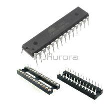 IC ATMEGA328P-PU ATMEGA328P DIP28 Microcontroller ATMEL Bootloader + DIP SOCKET