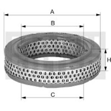 Filter Innenraumluft - Mann-Filter C 1555/6