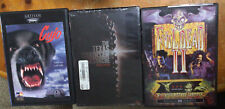 3 Horror Dvd lot Cujo Texas Chainsaw Massacre Evil Dead Ii Vg+