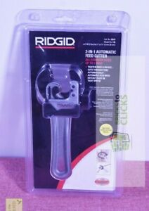 RIDGID- 1/4 in. to 1-1/8 in. Model 118 2-in-1 Close Quarters Autofeed Ratcheting