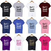 BEST FRIENDS FOREVER, besties, present, cute, friendship, christmas gift T Shirt