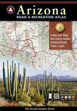 National Geographic Benchmark Arizona Road & Recreation Atlas Map BE0BENAZAT