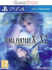 FINAL FANTASY X/X-2 HD REMASTER - PLAYSTATION PS4 BRAND NEW FREE DELIVERY