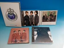 JYJ CD+DVD SET Live in DOME JUNSU JEJUNG YUCHUN Kim Jae Joong Tohoshinki