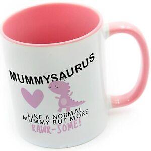 Funny Mummy Mug - Mummysaurus Mug Cup Cups Xmas Birthday Christmas Tea Coffee Mu