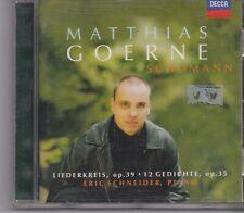 Matthias Goerne-Schumann cd album