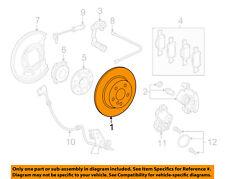 MERCEDES OEM 16-17 GLC300 Rear Brake-Rotor 0004230712