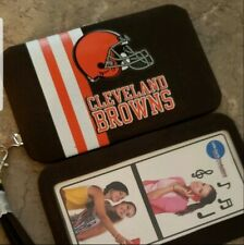 New Cleveland Browns NFL Wallet Smartphone Case Wristlet